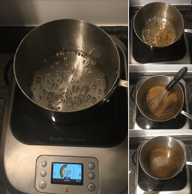 Making caramel on the Breville PolyScience Control Freak