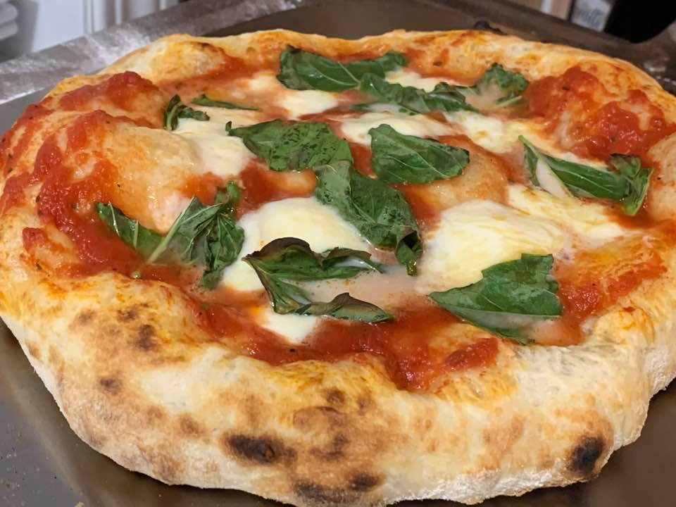 Neapolitan Pizza Cooked at Home Using a NerdChef Pizza Steel
