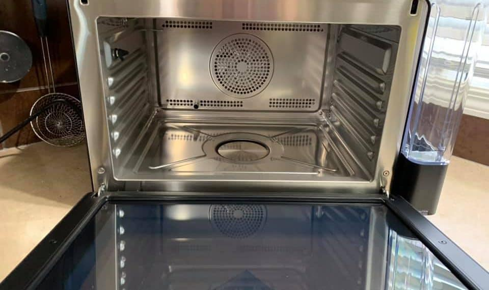 Anova Precision Oven Accessories including perforated pan.