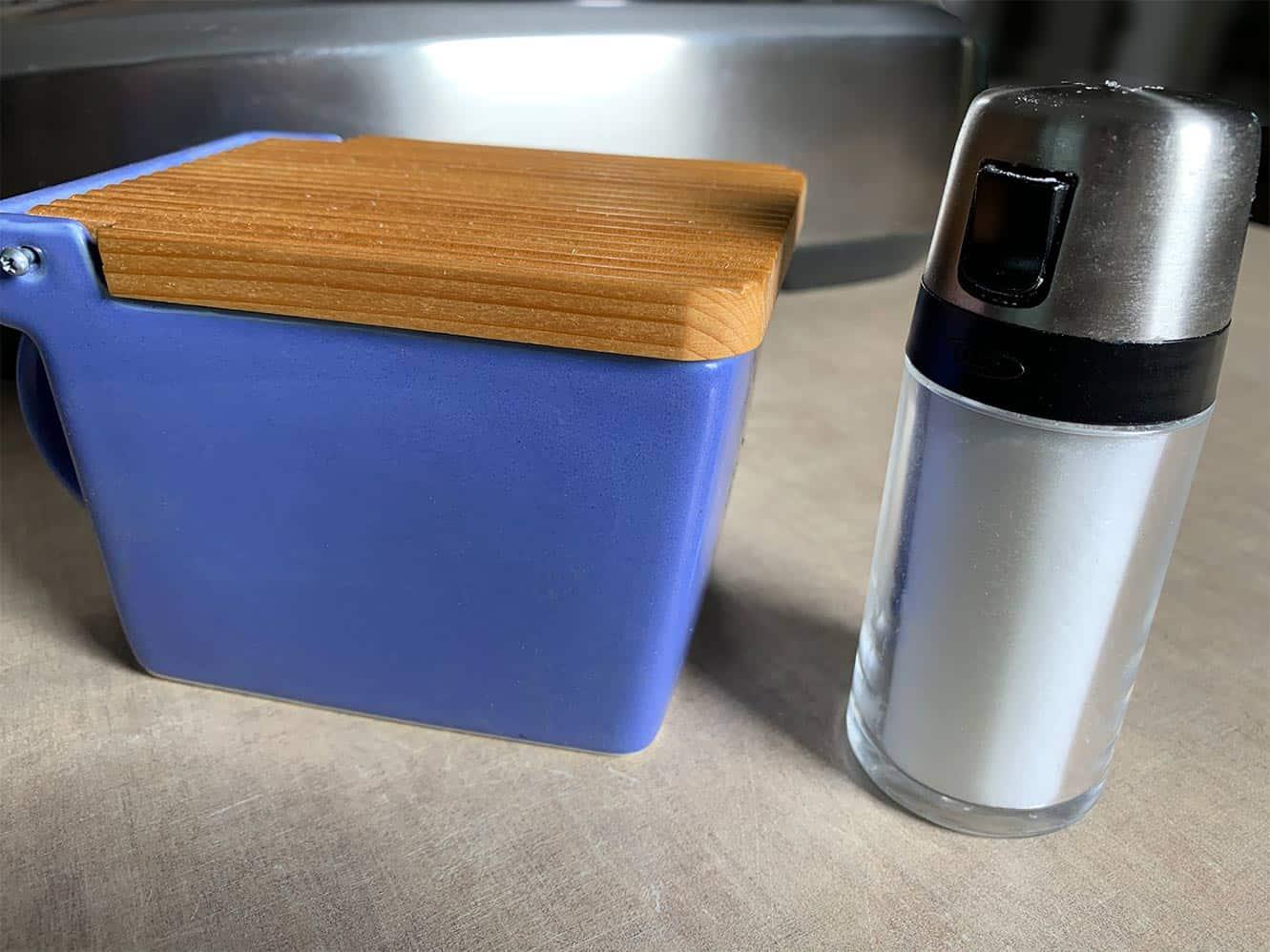 best salt shaker and best salt container.