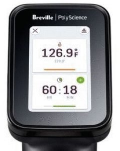 breville polyscience hydropro touch screen