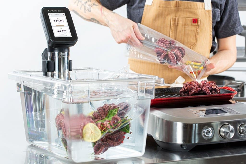 cooking with the breville polyscience hydropro