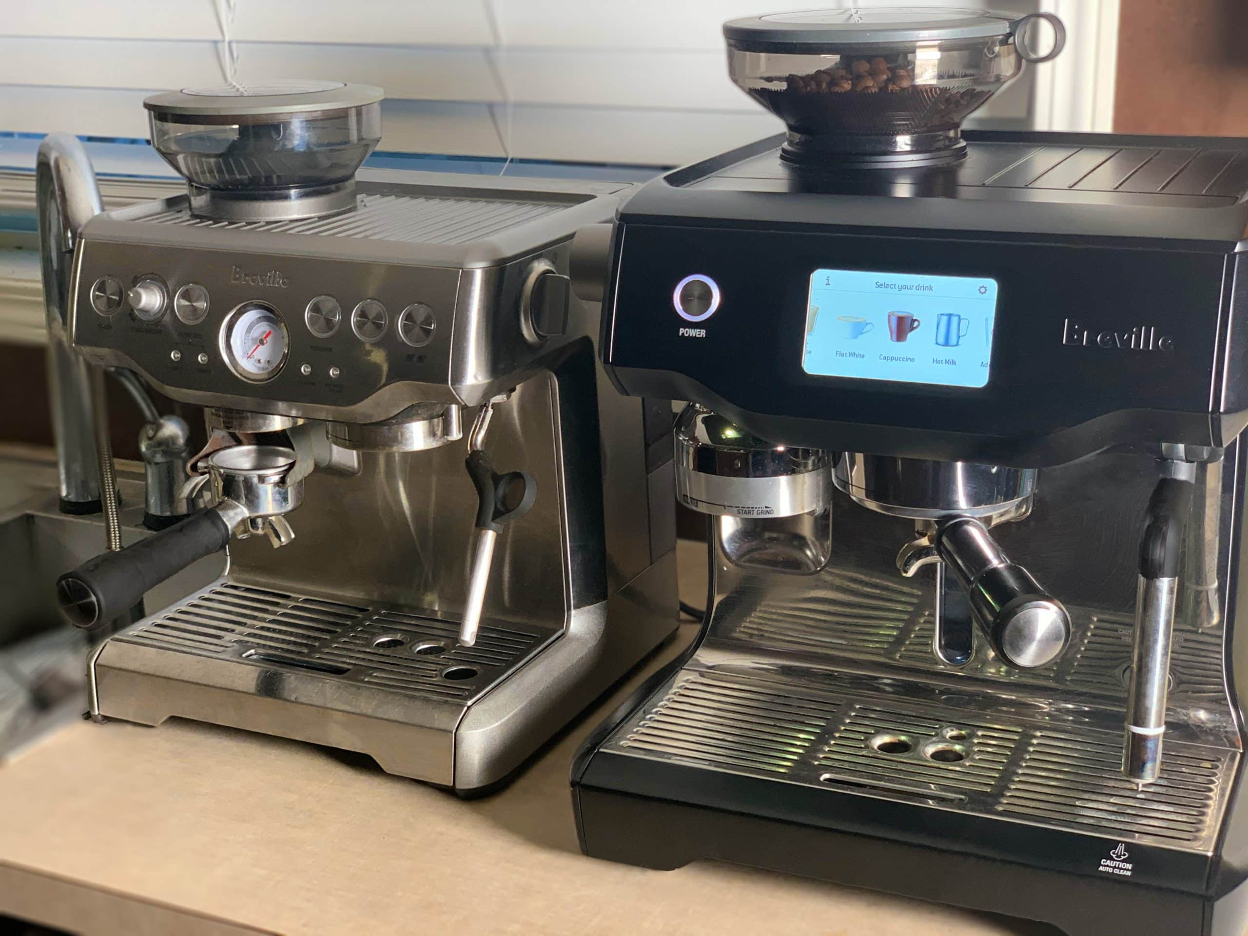 Breville Oracle Touch vs. Breville Barista Express.