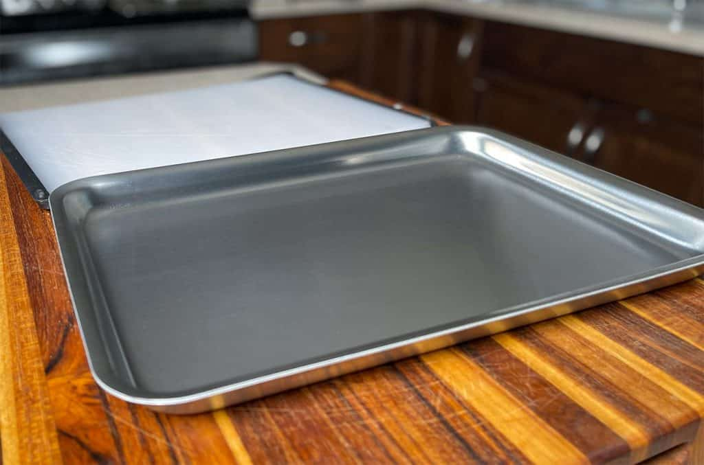 Cleaned 5 ply Jelly Roll Quarter Sheet Pan